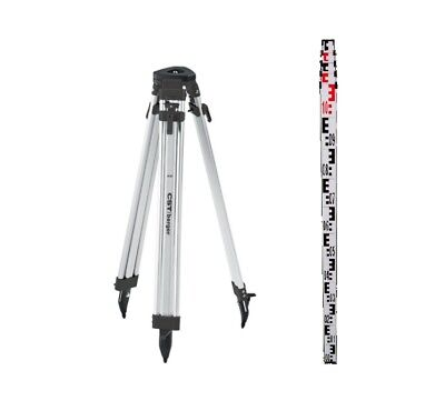 CST 60-ALQCI20-O Tripod & 06-804MM Rod Kit for Auto Level & Rotating Laser