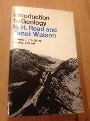 Introduction to Geology - Volume 1 Principles - READ H.H. and WATSON Jane