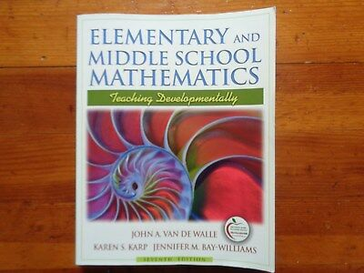 Elementary and middle school mathematics teaching developmentally elementary and middle school mathematics teaching developmentally 7th edition fandeluxe Image collections