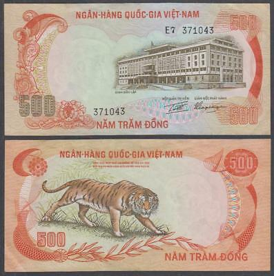 1972 National Bank of South Vietnam 500 Dong (XF)