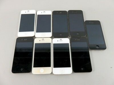Lot of 9 Apple iPhones **FOR PARTS / AS-IS** - LOT