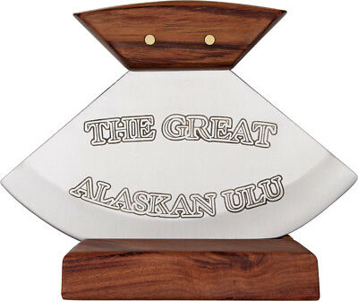 """Rough Rider The Great Alaskan Ulu Knife RR851 4 3/8"""" overall. Stainless blade wi"""