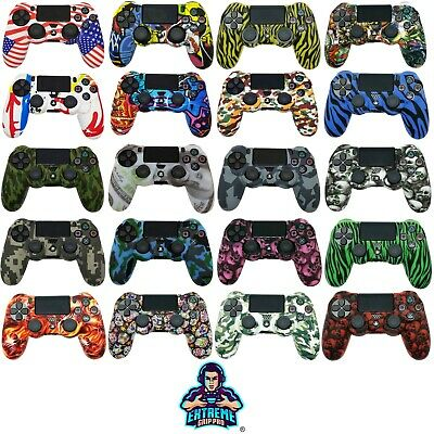 ExtremeGripPro® Lux Series Silicone Rubber Case Cover Skin for PS4 Controller