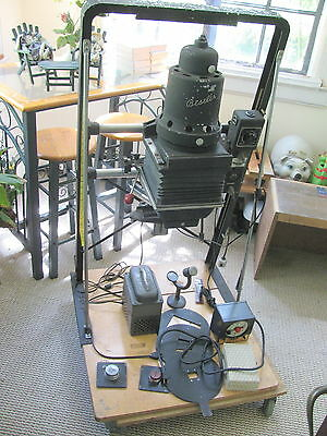 Beseler 4X5 Motorized Condenser Enlarger with Accessories