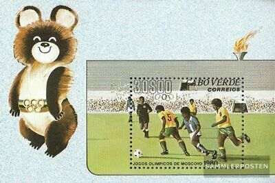 Cape Verde block2 (complete.issue.) unmounted mint / never hinged 1980 Olympics