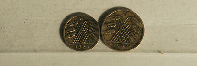 Two Coins. Germany. 1924.