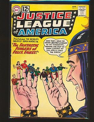 Justice League of America # 10 - 1st Felix Faust VG Cond.