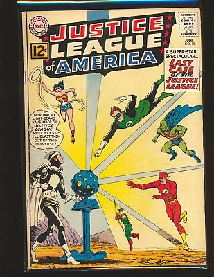 Justice League of America # 12 - 1st Dr. Light VG Cond.