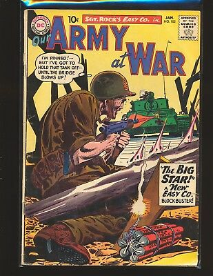 Our Army At War # 102 G/VG Cond.