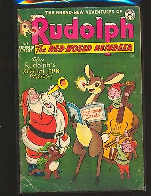 Rudolph The Red-Nosed Reindeer 1954 - Grossman cover & art Good Cond.
