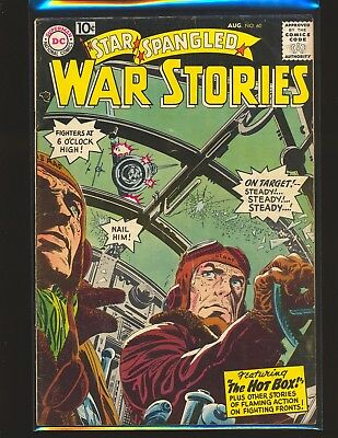Star Spangled War Stories # 60 G/VG Cond. subscription crease