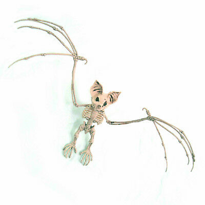 Halloween scary skeleto decoration prop motion skeleton for Animated flying bat decoration