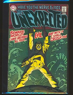 Unexpected # 112 - Neal Adams cover Fine+ Cond.