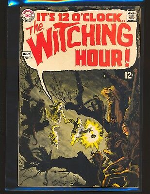 Witching Hour # 3 - Wrightson art VG/Fine Cond.