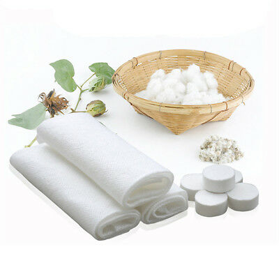 50 Pcs/Pack White Disposable Compressed Towel Mini Portable For Outdoor Travel