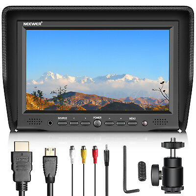 Neewer 7 inches On-Camera Field Monitor for Canon Nikon Sony Olympus DSLR Camera