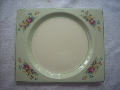 Royal Staffordshire Biarritz Plate Clarice Cliff Design