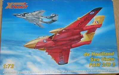 Xtrakit 1/72 de Havilland Sea Vixen FAW 2/D 3 + extra decals