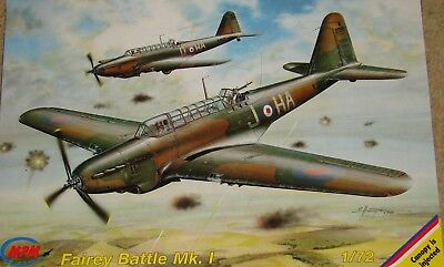 MPM 1/72 Fairey Battle Mk. 1 plus RAAF decals