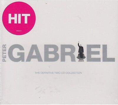 Peter Gabriel / Hit - The Definitive Two CD Collection - Best of (2CDs,NEU!OVP)