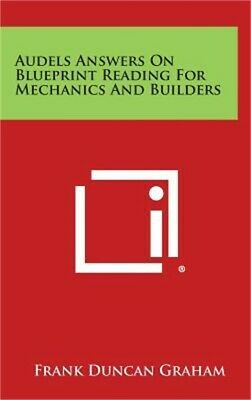 Audels Answers on Blueprint Reading for Mechanics and Builders (Hardback or Case