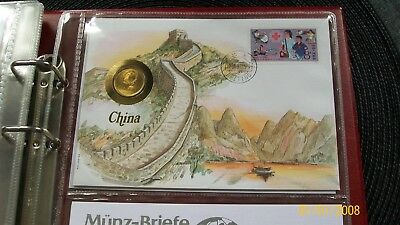 Numis Briefe China  Europa + Welt