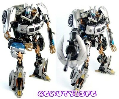 Transformers 2 REVENGE OF THE FALLEN Movie AUTOBOT JAZZ Action Figure Toy + Box