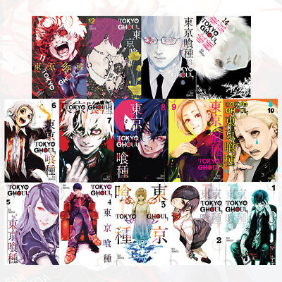 Tokyo Ghoul Series Volume (1-14) Sui Ishida Collection 14 Books Pack Set NEW UK