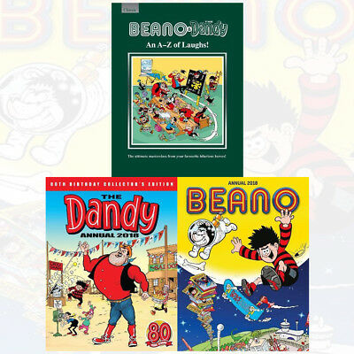 Beano Annual 2018 Collection Masterclass from your Favourite Hilarious 3 Books