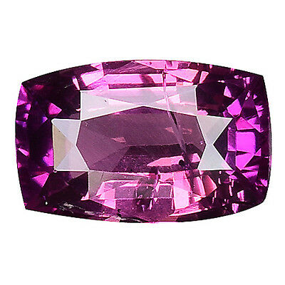 1.030 Cts Magnificent Amazing Pink Purple Natural Sapphire Cushion Gemstones