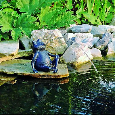 Gargoyle Frog Pond Figure Pond Garden Figure Fountain Decoration NEW