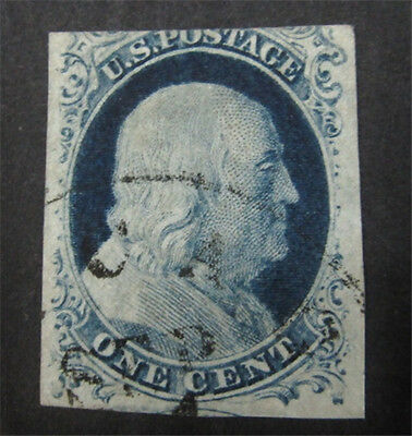nystamps US Stamp # 9 Used $100