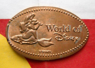 World Of Disney elongated penny USA cent Ariel souvenir coin The Little Mermaid