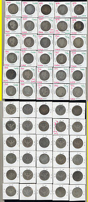 Lot Of 30 Barber Quarters- Includes Scarce Dates- No Reserve