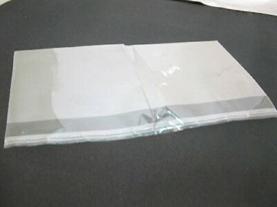 3000X Clear Self-Adhesive Seal Plastic Bag 16x28cm