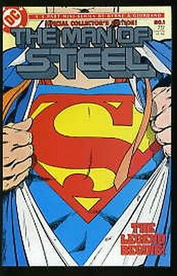 Superman The Man Of Steel #1-6 Vf/nm Complete Set 1986 W/ Variant #1