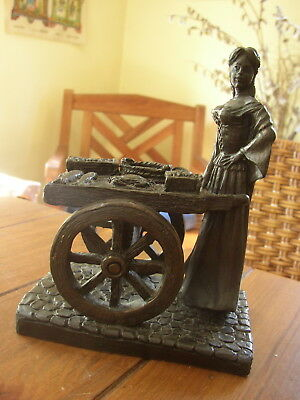 Molly Malone, S 6, Bronze Statuette, made in Ireland by Genesis