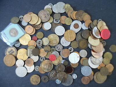Token Medal Exonumia Lot of 150 Tokens Medals & Misc