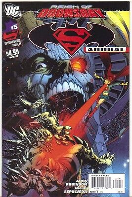 Superman Batman Annual #5 Reign of Doomsday FN/VFN (2011) DC Comics