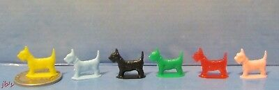 Scotty Dogs Miniature Plastic Scotty Dogs 1960'S