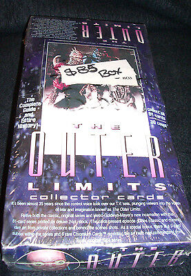 The Outer Limts Collector cards Sealed Box