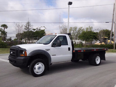 2005 Ford Other Pickups Flatbed FL Truck 2005 Ford F550 12' Flatbed Super Duty 2WD 6.0L Turbo Diesel Clean Carfax 4:88