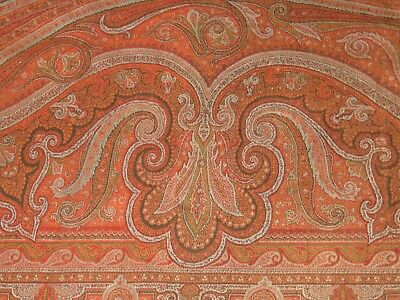 ANTIQUE VICTORIAN Paisley Shawl CUTTER For PROJECTS Doll Clothes