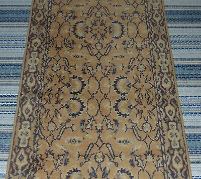 ANTIQUE PRIMITIVE ORIENTAL RUNNER Muted Colors RUG Persian