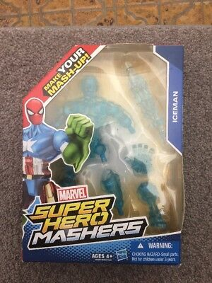 Marvel Super Hero Mashers  ICE MAN ACTION FIGURES Toys Gifts