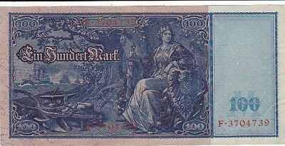 1910 Germany 100 Mark Battleship Note, Pick 42