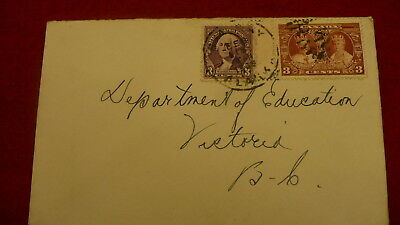Canada and USA postage stamps  countries same envelope P339