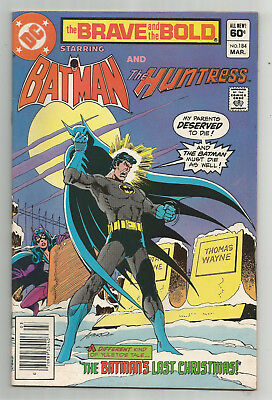 THE BRAVE AND THE BOLD # 184 * BATMAN and THE HUNTRESS