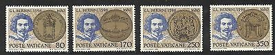 1980 Vatican 3rd centenary of the death of G.L. Bernini set of 4 MNH
