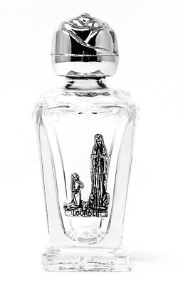 Lourdes Water in a Glass Bottle FILLED with Lourdes Holy Water BLESSED